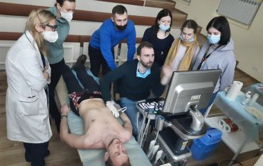 BASIC COURSE OF ULTRASOUND DIAGNOSTICS IN INTENSIVE CARE